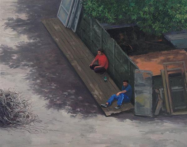 """Șerban Savu, """"Mănăștur"""" @ Galeria Dawid Radziszewski din Varșovia"""