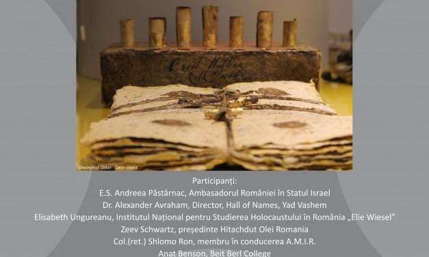 """""""Cum a fost posibil?""""expoziție de artă plastică dedicată comemorării victimelor Holocaustului"""