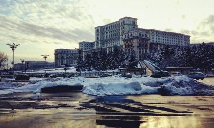 Iarna in Bucuresti