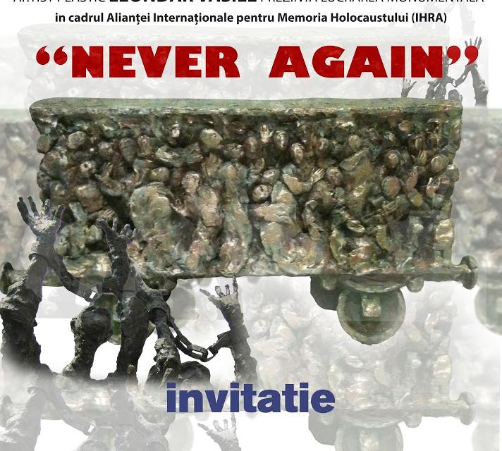 "Leondar Vasile ""Never Again"" @ Galeria ""Theodor Pallady"", Iași"