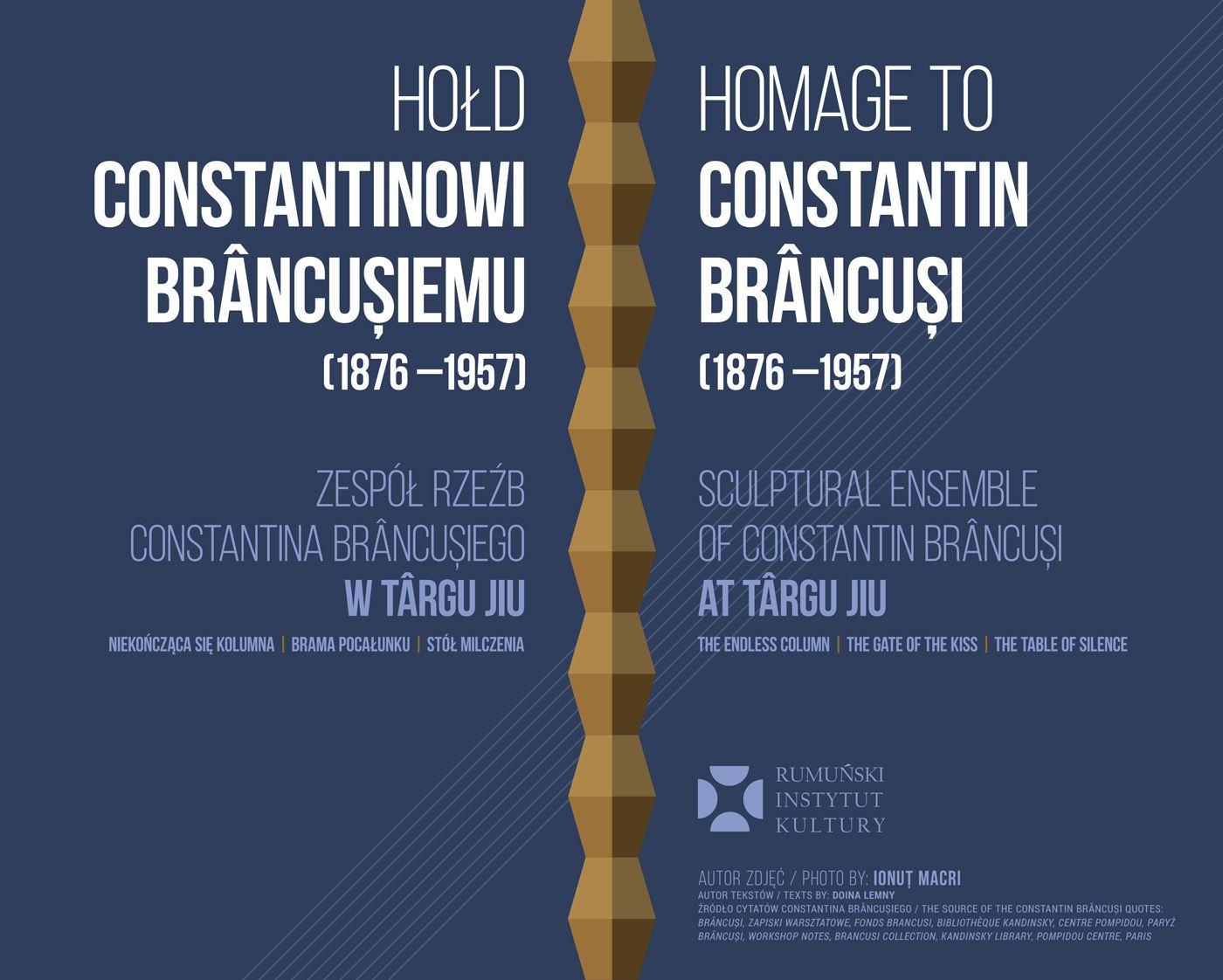 expo Brancusi plansa 1