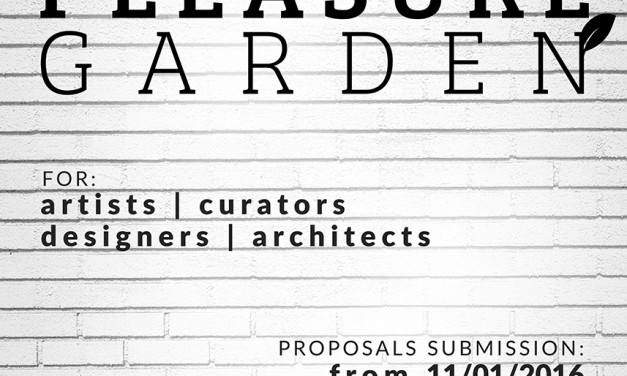 "Open call for artists, curators, designers and architects ""Pleasure Garden"" @ Visual Kontakt gallery, Cluj-Napoca"