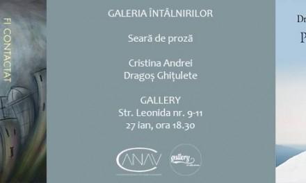Galeria Întâlnirilor cu Daniel Sur @ Asociația Națională pentru Arte Vizuale Contemporane
