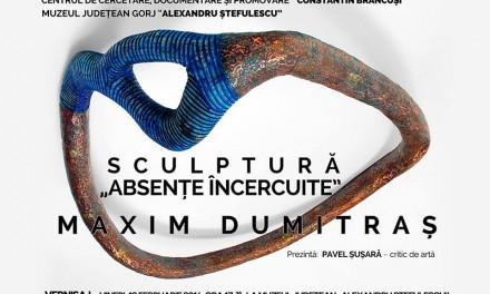 "Maxim Dumitraș – Absențe încercuite @ Muzeul Județean ""Alexandru Ștefulescu"" Târgu Jiu"