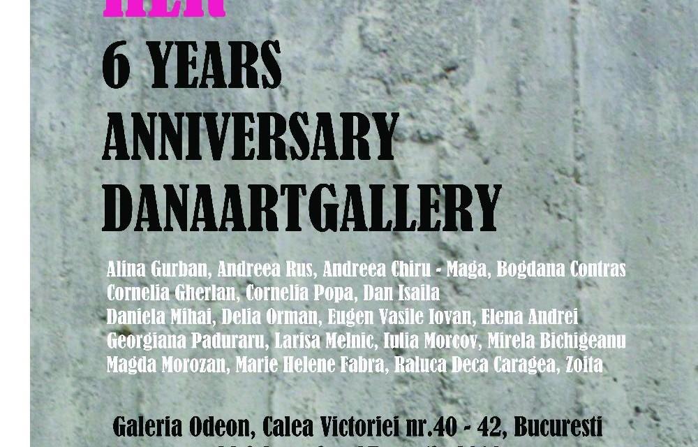 Aniversare 6 ani DanaArtGallery, București