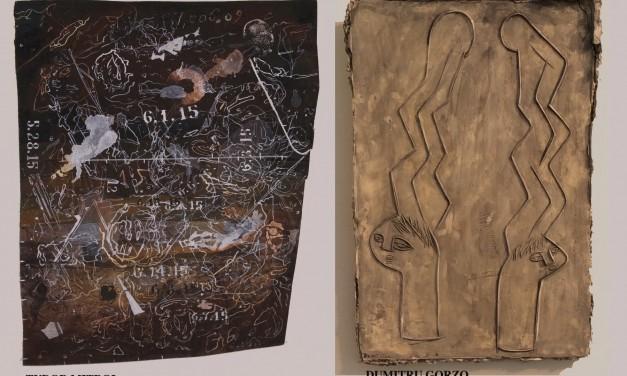 "Dumitru Gorzo, Tudor Mitroi ""Tracing Journals"" @ Slag Contemporary, NY"