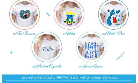 Artişti români creează tricouri cu IMPACT social
