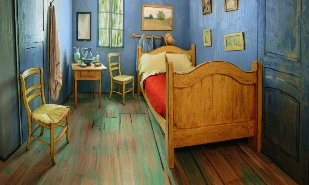 Van Gogh's Iconic Painting 'Bedroom in Arles' Physically Recreated as a Room to Rent on Airbnb