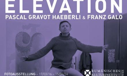 """Expoziția """"ÉLÉVATION"""" la Galeria ICR Viena"""