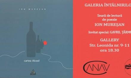 Poetul Ion Mureșan @ Galeria Întâlnirilor, coordonată de Daniel Sur