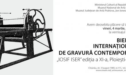 Bienala Internațională de Gravură Contemporană @ Muzeul Naţional de Artă al Moldovei, Chişinău