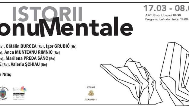 Istorii MonuMentale – istorie-memorie-monument în București și spațiul est-european, într-o expoziție de artă video, la ARCUB