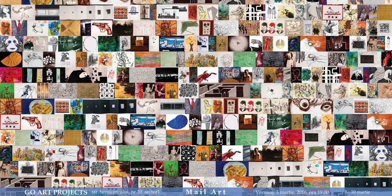 Mail Art @ Go Art Projects, București