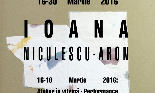 "Ioana Niculescu-Aron ""MEREU: 8 Rue Seveste, 75018 Paris"" @ Galeria Europe, Brașov"