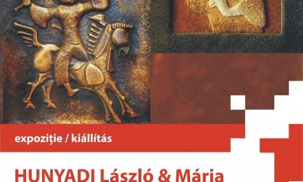 Expoziţia artiştilor plastici Hunyadi Mária şi Hunyadi László la Institutul Balassi – Institutul Maghiar din Bucureşti