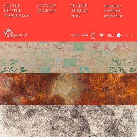 """Cătălin Bălescu """"Studii despre manierism"""" @ Muzeul de Artă Timișoara"""