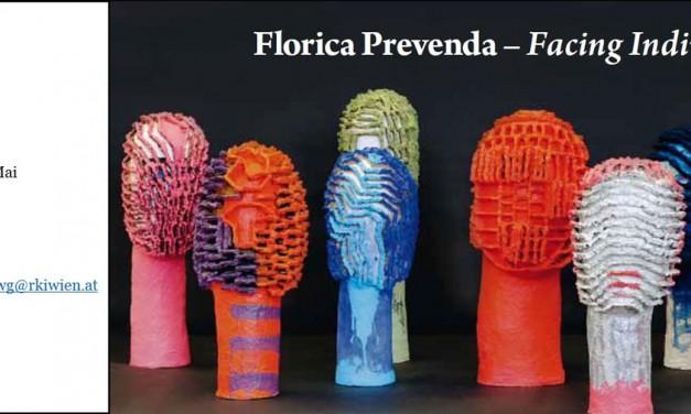 """Expoziţia """"Facing Individuality"""" a artistei Florica Prevenda la Galeria ICR Viena"""