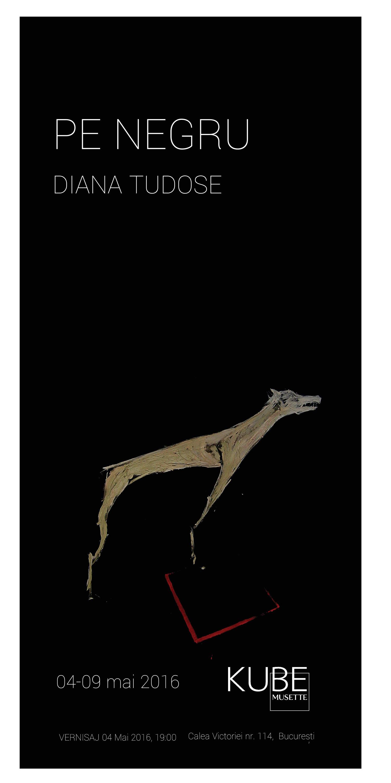 Expoziție-'Pe-negru'--Diana-Tudose-@-Galeria-Kube-Musette,-București