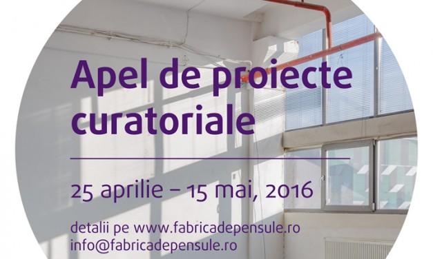 Apel de proiecte curatoriale @ Federația Fabrica de Pensule