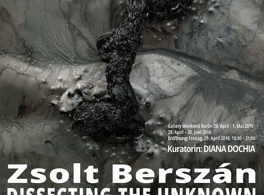 """Zsolt Berszán """"Dissecting the Unknown"""" @ Anaid Art Gallery, Berlin"""