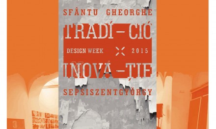 Design Week din Sfântu Gheorghe la Bucureşti