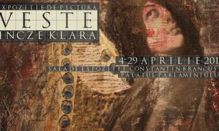 """Expoziţia """"VESTE"""" – Incze Klara @  Sala Constantin Brâncuşi a Palatului Parlamentului"""