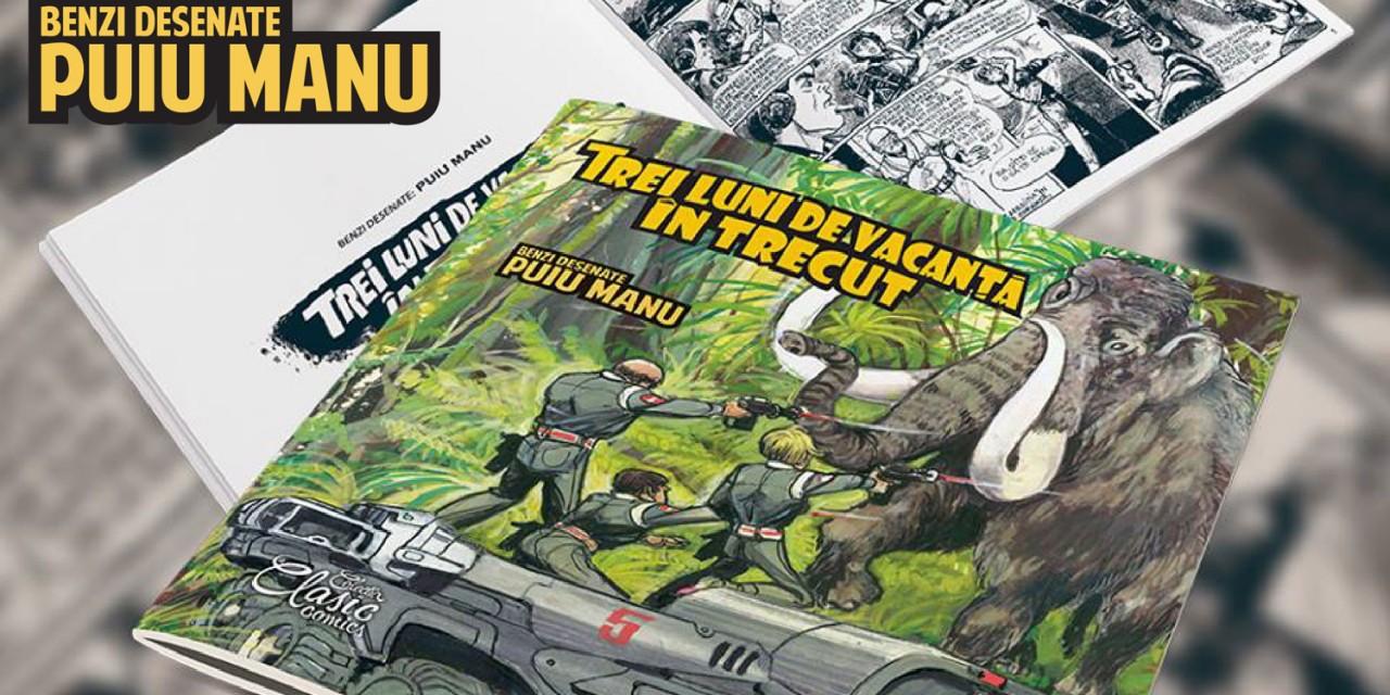 Lansare: Trei luni de vacanță în trecut, benzi desenate de Puiu Manu