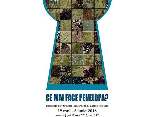 """""""Ce mai face Penelopa?"""" expoziţia bienală de tapiserie, sculptură şi artele focului @ Muzeul de Artă din Cluj-Napoca"""