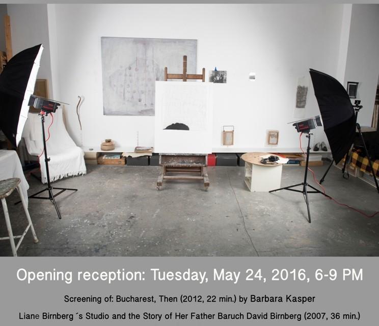 """Liane Birnberg, """"Întunericul vine între pași"""" @ Gateway Art Center NYC"""