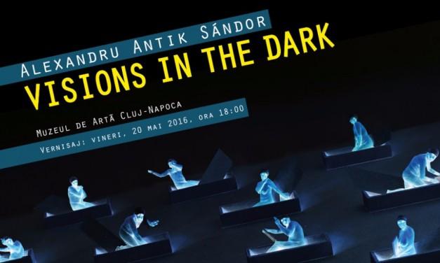 """Alexandru Antik """"Viziuni în întuneric"""" @ Muzeul de Artă Cluj-Napoca"""