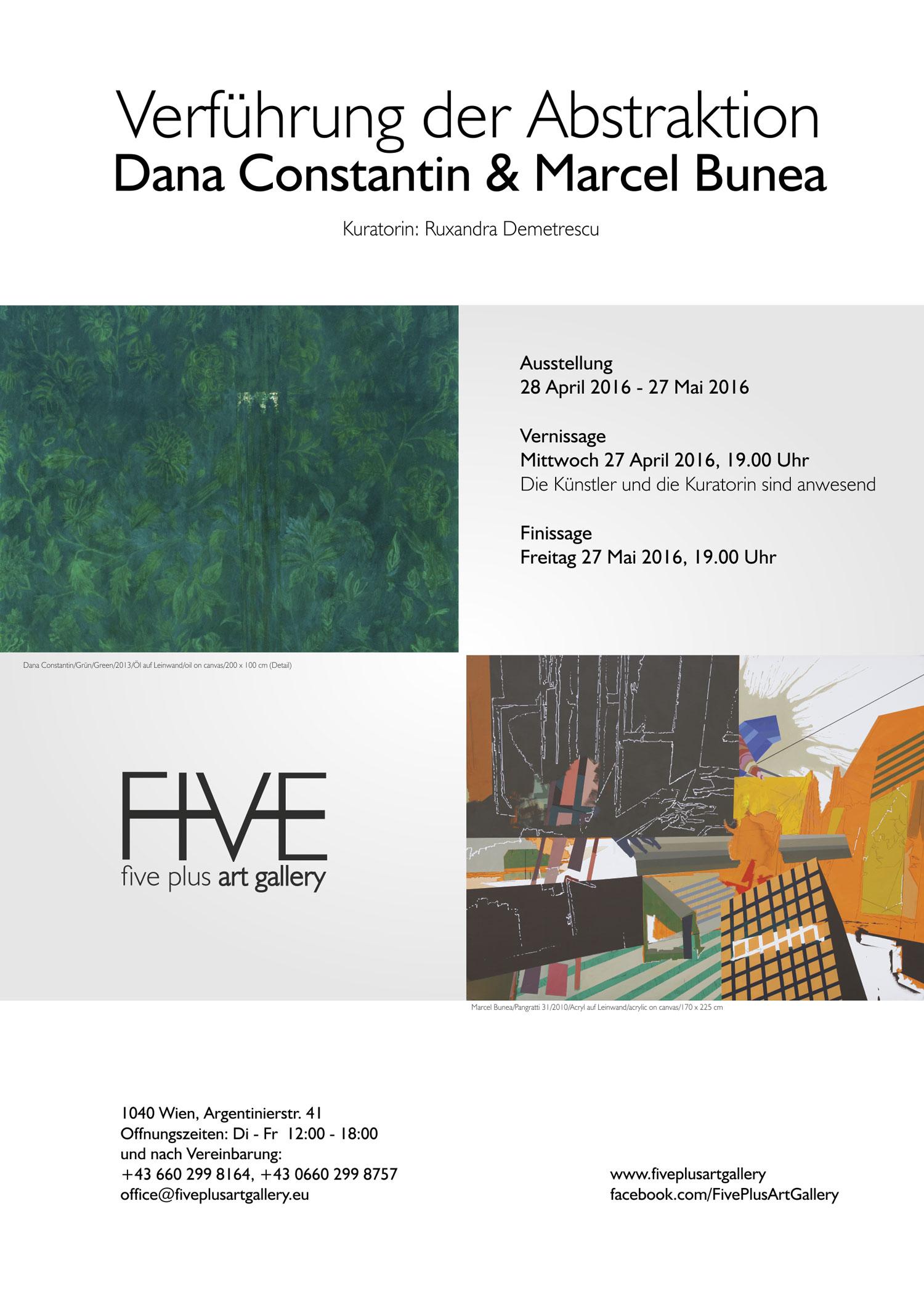 """Dana Constantin, Marcel Bunea """"Verführung der Abstraktion"""" @ FIVE PLUS Art Gallery, Vienna (14)"""