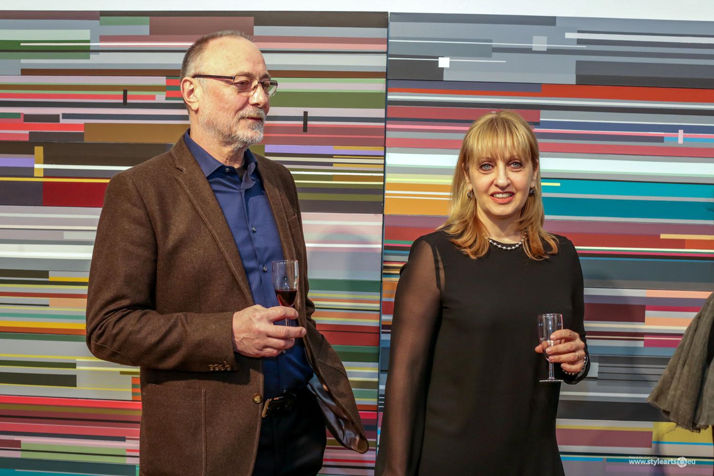 """Dana Constantin, Marcel Bunea """"Verführung der Abstraktion"""" @ FIVE PLUS Art Gallery, Vienna (3)"""