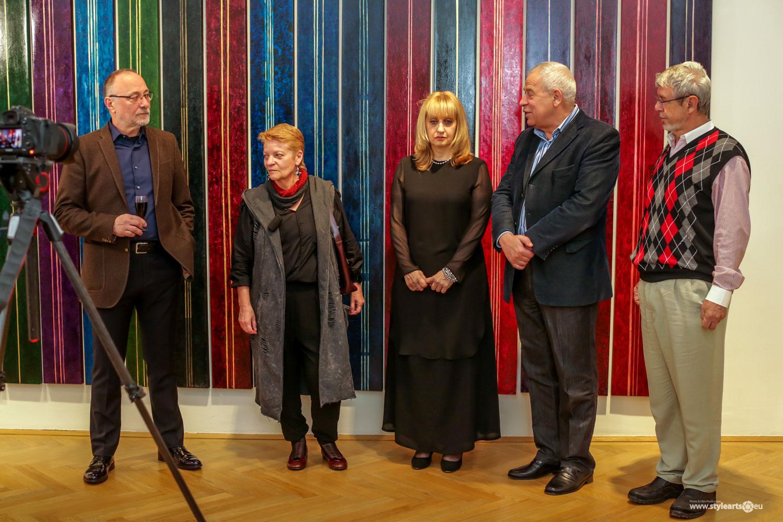 """Dana Constantin, Marcel Bunea """"Verführung der Abstraktion"""" @ FIVE PLUS Art Gallery, Vienna (5)"""