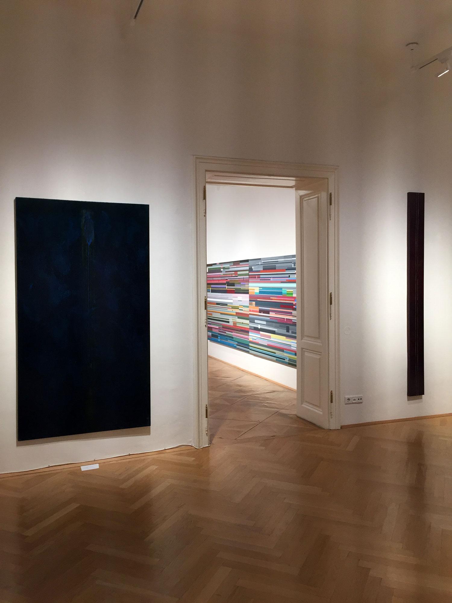 """Dana Constantin, Marcel Bunea """"Verführung der Abstraktion"""" @ FIVE PLUS Art Gallery, Vienna (6)"""