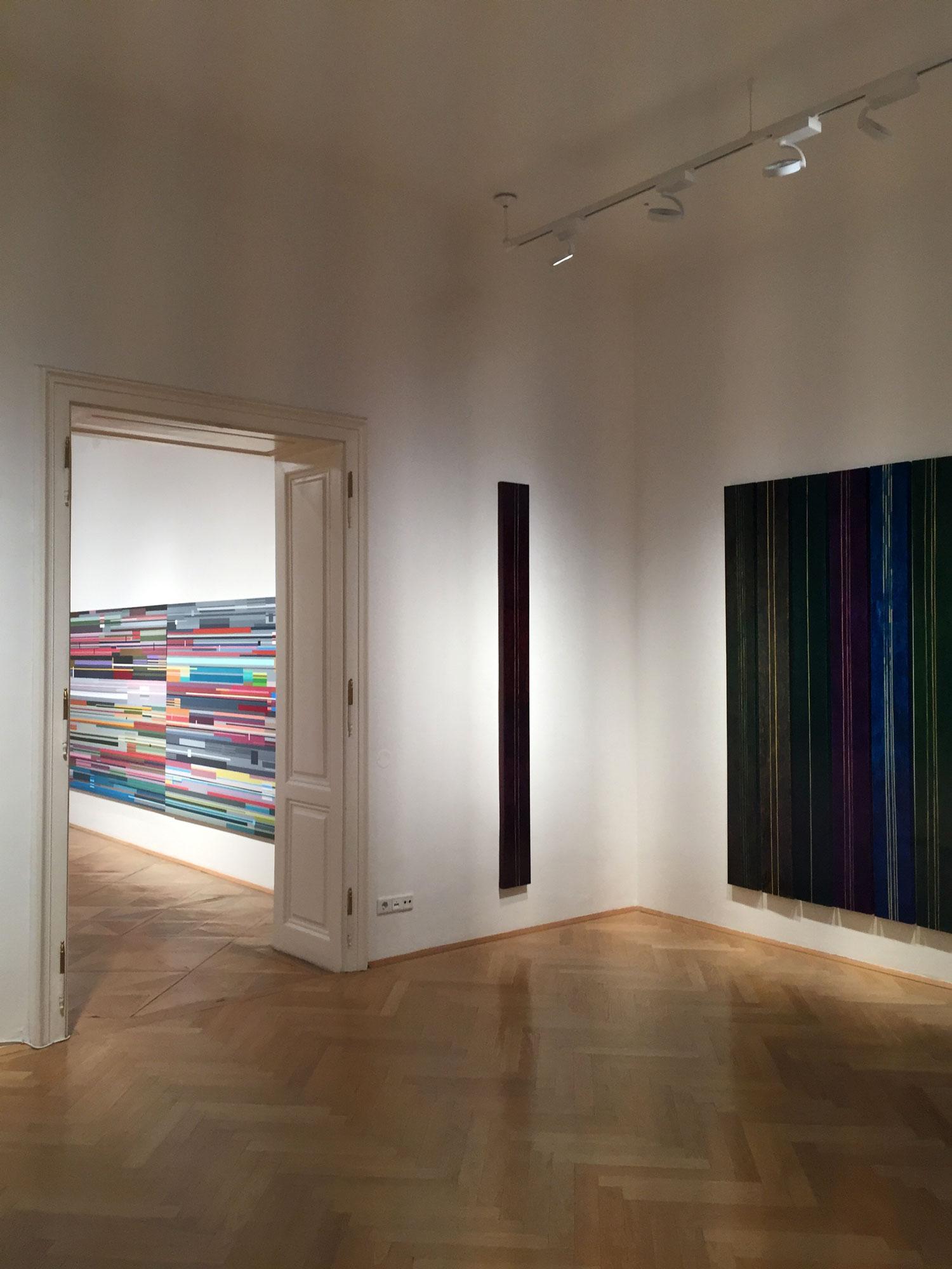 """Dana Constantin, Marcel Bunea """"Verführung der Abstraktion"""" @ FIVE PLUS Art Gallery, Vienna (7)"""