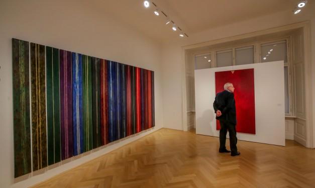 """Dana Constantin, Marcel Bunea """"Verführung der Abstraktion"""" @ FIVE PLUS Art Gallery, Vienna"""
