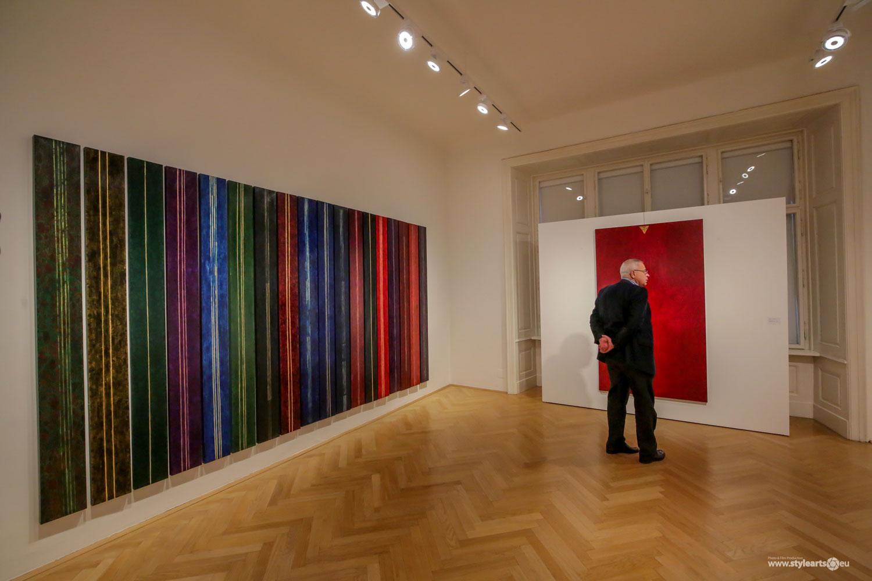 """Dana Constantin, Marcel Bunea """"Verführung der Abstraktion"""" @ FIVE PLUS Art Gallery, Vienna (8)"""