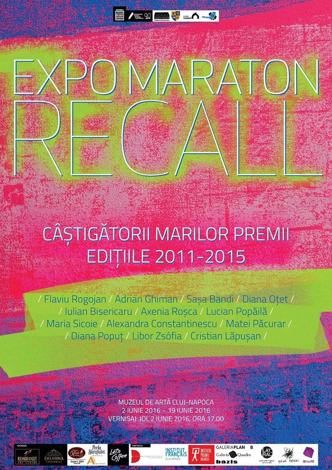 EXPO MARATON RECALL @ Muzeul de Artă Cluj-Napoca