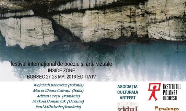 Festivalul Internațional de Poezie și Arte Vizuale Inside Zone de la Borsec