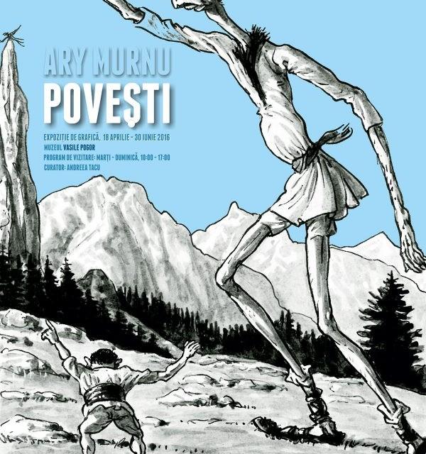 """Expoziție eveniment: Grafica lui Ary Murnu la poveștile lui Ion Creangă @ Muzeul """"Vasile Pogor"""", Iași"""