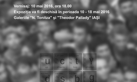 "Tudor Pătraşcu ""MASSA CONFUSA / EVERY FRAGMENT IS A WHOLE"" @ Galeriile ""N. Tonitza"" și ""Theodor Pallady"", Iași"