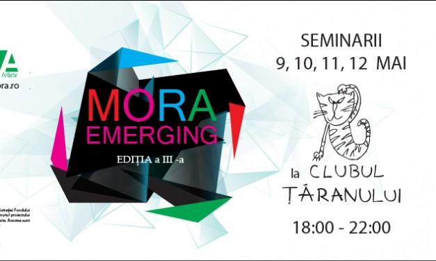 MORAEmerging2016 – Sesiune de seminarii şi conferinţe despre arta, artist, public și spatiul lor de intalnire