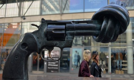 Non-violence by Carl Fredrik Reutersward