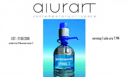 "Dumitru Gorzo / Gheorge Rasovszky ""Izvorul 2"" @ Aiurart Contemporary Art Space, București"