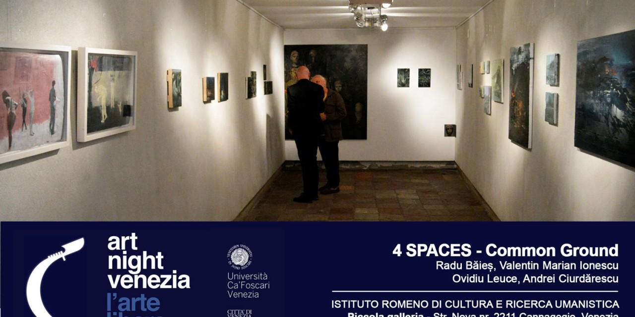 4 Spaces – Common Ground @ Art Night Venezia 2016