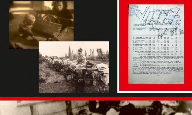 """Expoziția """"Foametea din Basarabia din anii 1946 – 1947"""" @ Centrul de Istorie și Cultură Militară a Ministerului Apărării al Republicii Moldova"""