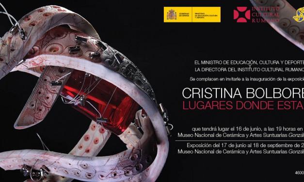 """Cristina Bolborea """"LUGARES DONDE ESTARES"""" @ Valencia, Spania"""