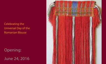 Patrimoniul cultural textil carpato-balcanic @ Institutul Cultural Român din New York
