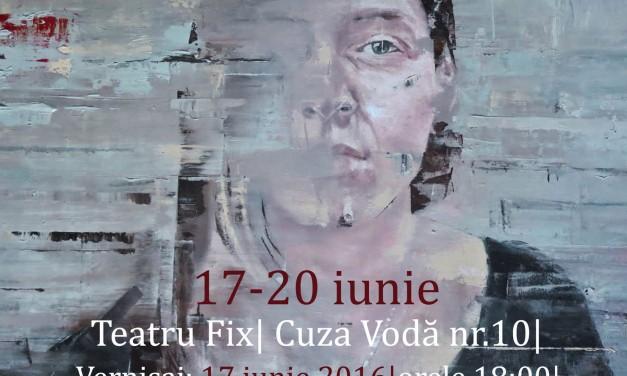 """Expoziție de pictură Mădălina Andronic """"TRAPPED INSIDE"""" @ Teatru Fix, Iași"""