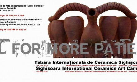 Tabara Internationala de Ceramica la Sighisoara